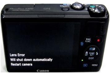 Canon Error 1511 - Error 1