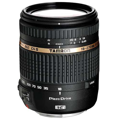 Tamron 18-270mm 3.5-6.3 Di II VC PZD Model B008E for Canon